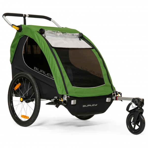 Burley - Encore - Remolques para niños size One Size, dunkelgrün