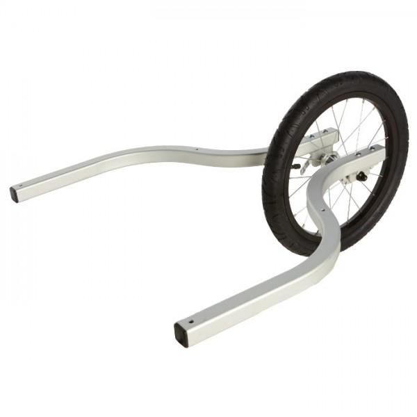 Burley - Jogger Kit Double - Accesorio remolques para niños size One Size, silber