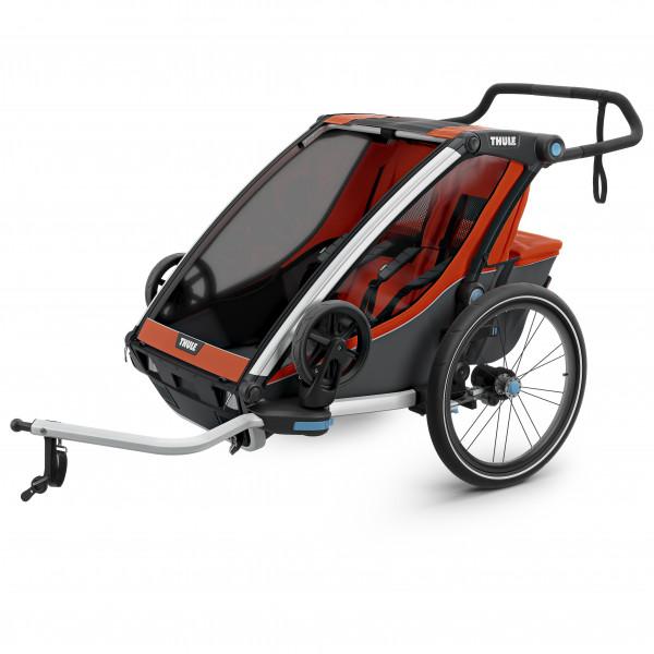Thule - Chariot Cross2 - Remolques para niños negro/gris