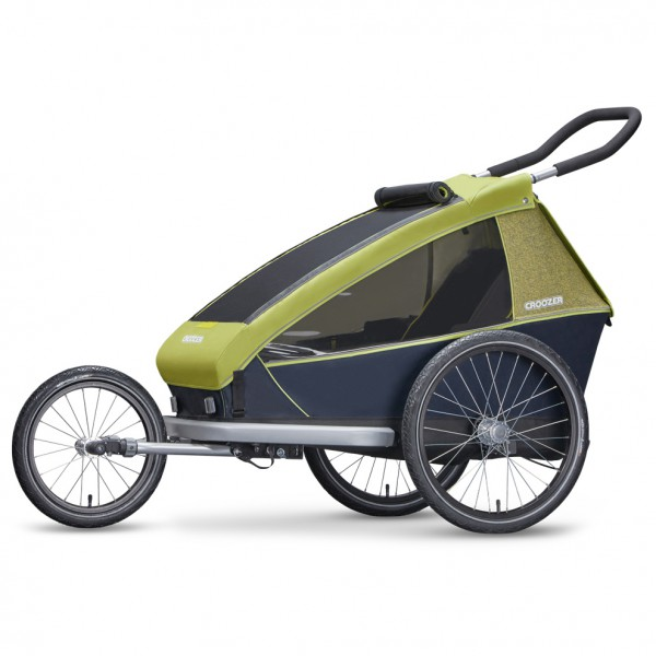 Croozer - Kid For 1 2019 - Remolques para niños size One Size, verde