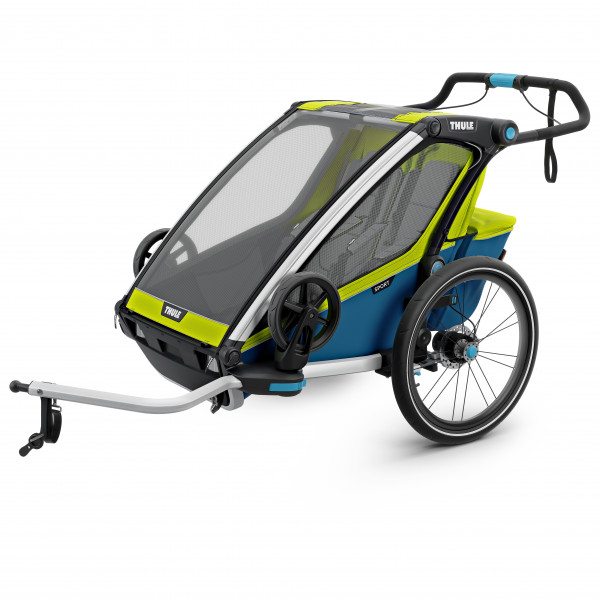 Thule - Chariot Sport2 - Remolques para niños chartreuse