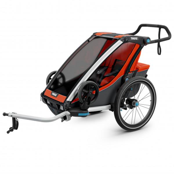 Thule - Chariot Cross 1 - Remolques para niños negro/gris