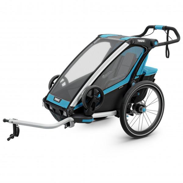 Thule - Chariot Sport 1 - Remolques para niños gris/negro