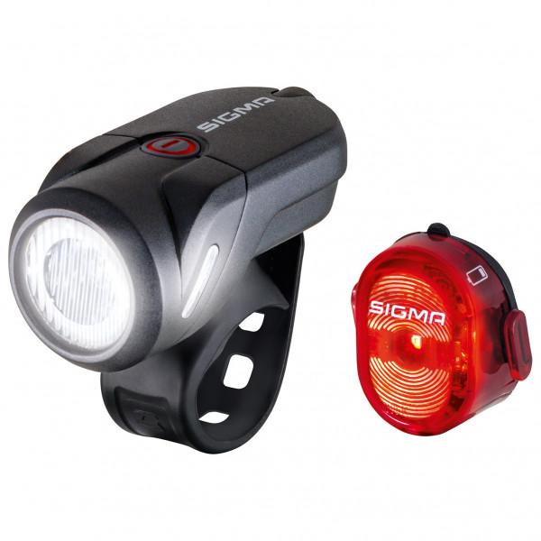 Sigma - Aura 35 USB K-Set - Fahrradlampen-Set schwarz 17360