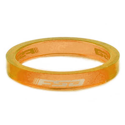 FSA - Poly Spacer 1 1/8 5 mm (10-Pack) orange