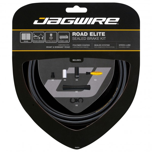 Jagwire - Bremszugset Road Elite Sealed Kit mat...