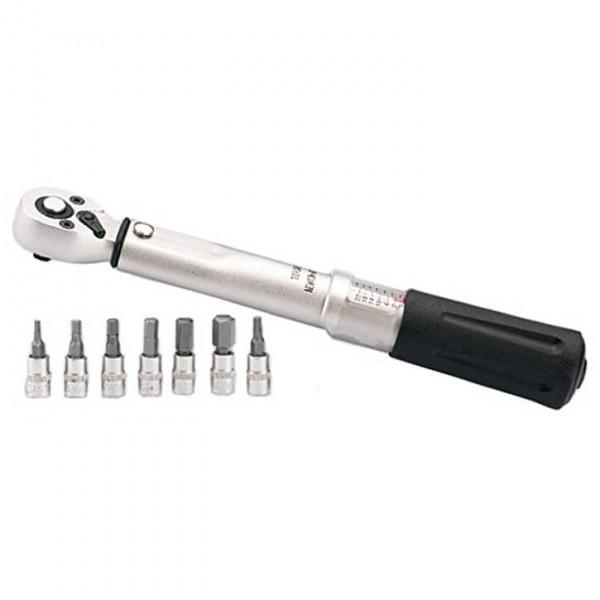 Contec - Drehmomentschlüssel 1/4 - Werkzeug grau/schwarz 03709458