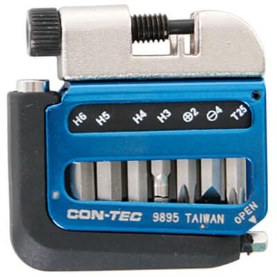 Contec - Multifunktionswerkzeug Pocket Gadget - PG1 blau 03709557