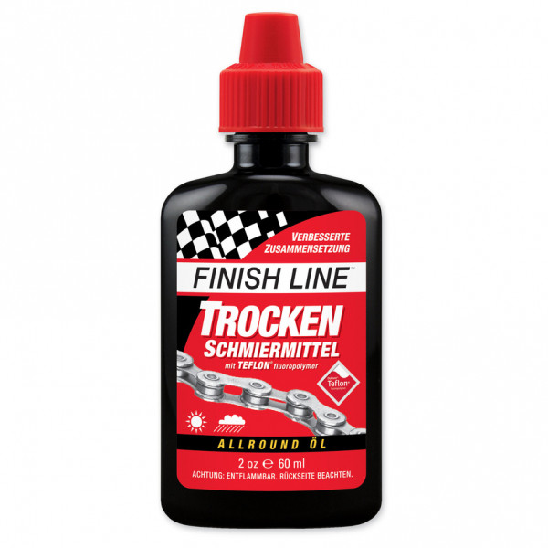 Finish Line - Trockenschmiermittel Spritzflasche - Fahrradwerkzeug Gr 60 ml rot 4000064