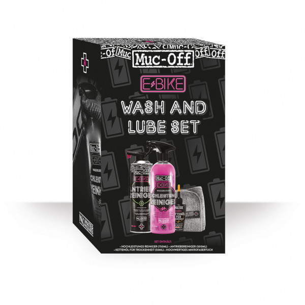 Muc Off - Ebike Wash & Lube Kit Gr One Size schwarz MU-KIT-0014