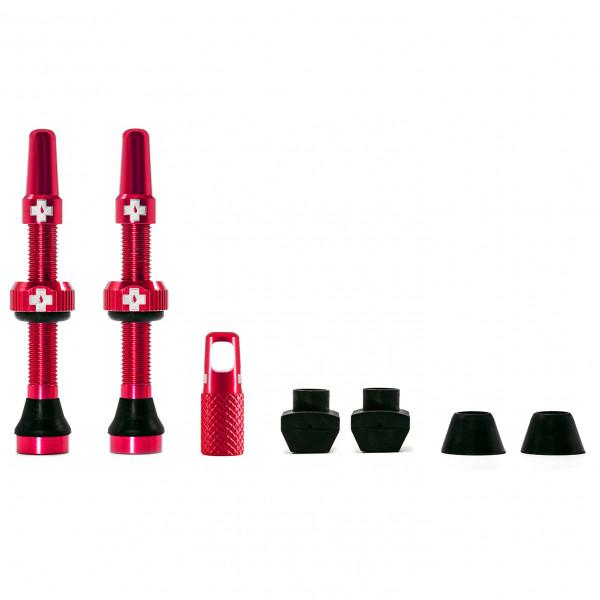Muc Off - Tubeless Valve Kit Universal - Fahrradventil Gr 44 mm rot MU-TIR-1051-13-44