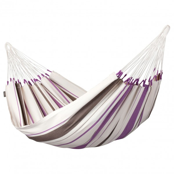 La Siesta - Caribena - Hängematte Gr Single grau/weiß CIH14-7