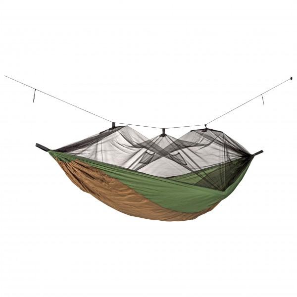 Amazonas - Hängematte Moskito-Aventure Thermo - Hängematte Gr 2,75 x 1,4 m grau/oliv/braun 021790