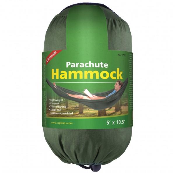 Coghlans - Hängematte Parachute - Hängematte Gr Single oliv/grün 381752