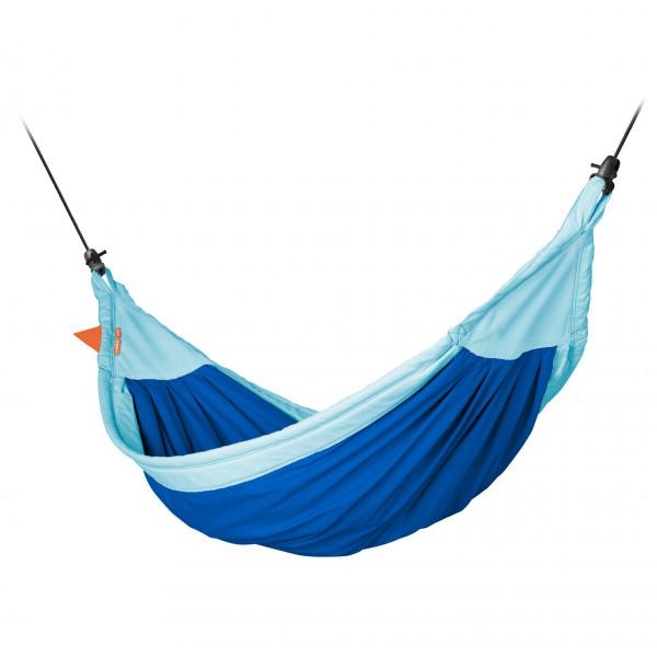 La Siesta - Moki - Hängematte Gr 210 x 110 cm blau/türkis/grau MOK11-33