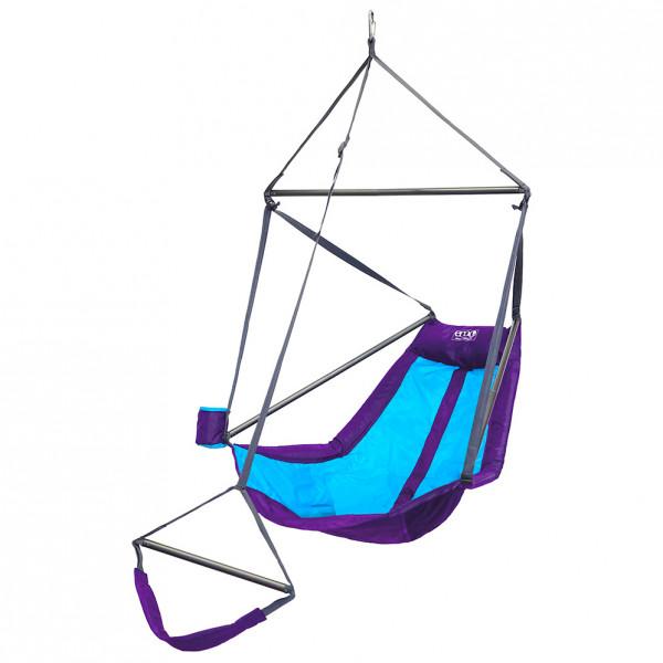 ENO - Lounger Hanging Chair - Hängematte Gr 178 x 91 x 91 cm lila/grau/türkis LN208