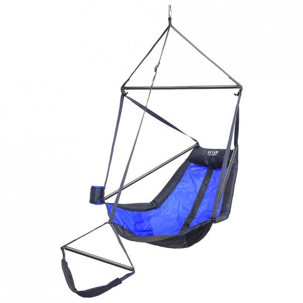 ENO - Lounger Hanging Chair - Hängematte Gr 178 x 91 x 91 cm grau/blau/schwarz LN220