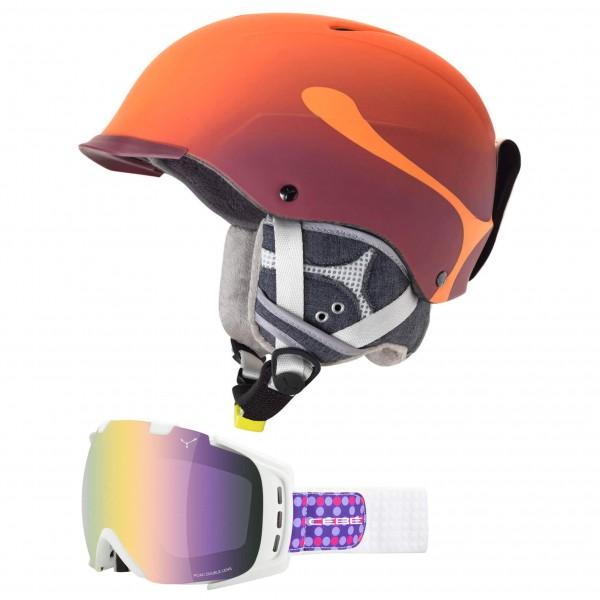 Cébé - Ski-Helm-Brillen-Set Contest Visor Pro & Origins M - broschei