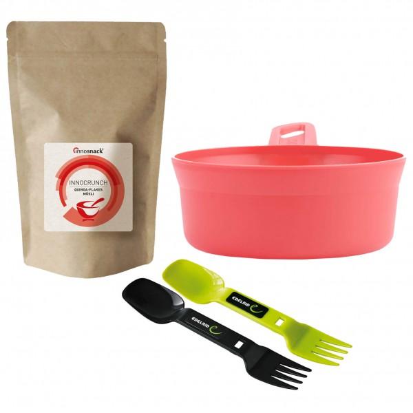 Innosnack - Müsli-Set Quinoa-Flakes Spof & Schüssel - broschei