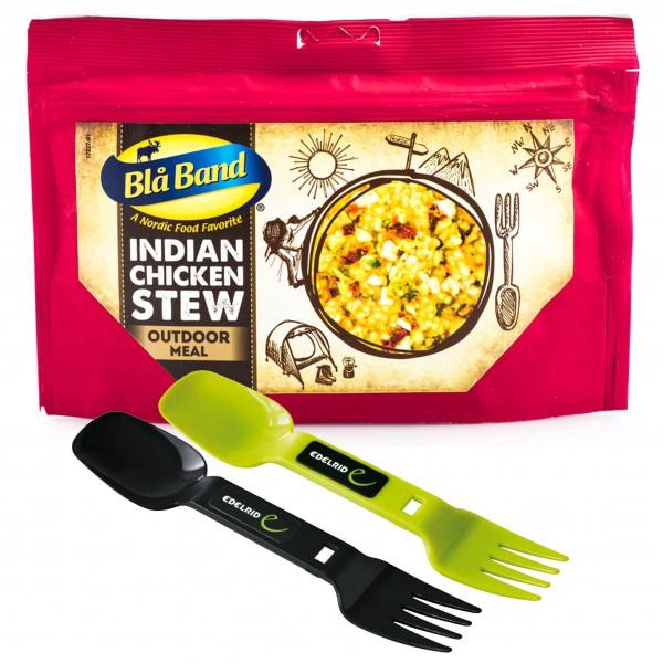 Bla Band - Trekking Meal Set Indischer Hühnchentopf & Spof