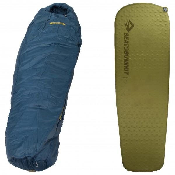 Mammut - Schlafsack-Set Nordic SE 3- Season Camp Mat - broschei