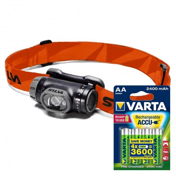 Silva - Stirnlampen-Set Explore ACCU AA 4er